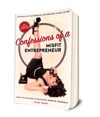 Confessions of a misfit book