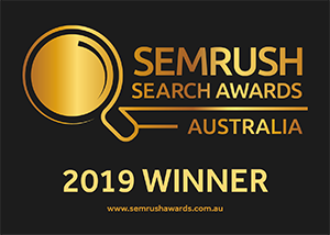 SEMrush Awards Winner Badge