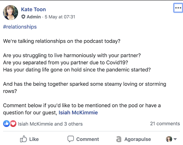 Kate Toon podcast