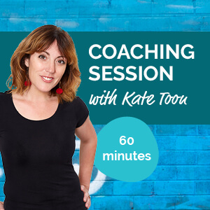 Coaching session with Kate Toon